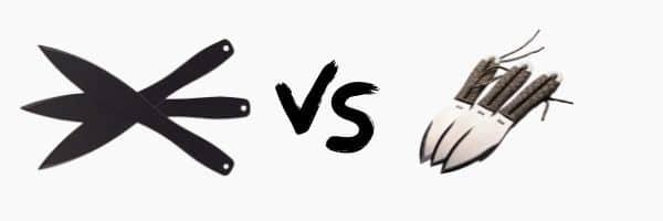 Cold Steel 12 Inch vs SOG Fling Throwing Knife