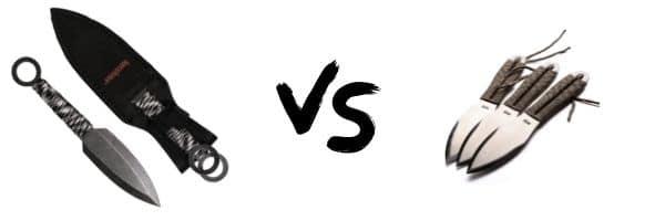 Kershaw ION vs SOG Throwing Knives