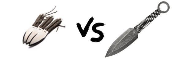 SOG Fling vs Kershaw ION Throwing Knives