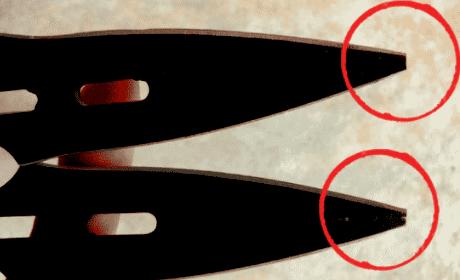 Whetstone Cutlery Throwing Knives Broken